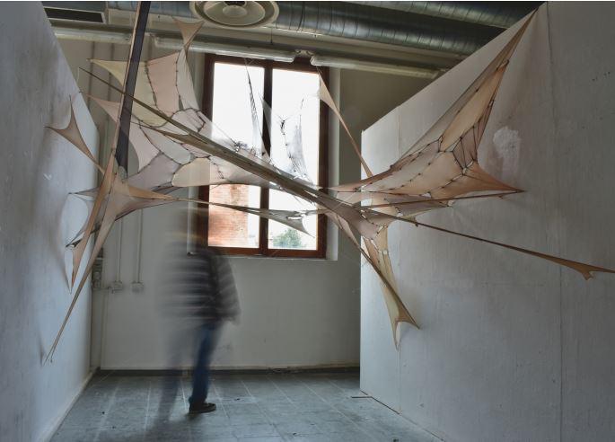 Residenza artistica dei P0int: scultura Angela Trione